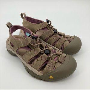 KEEN Newport Waterproof Closed-Toe Hiking Sandals